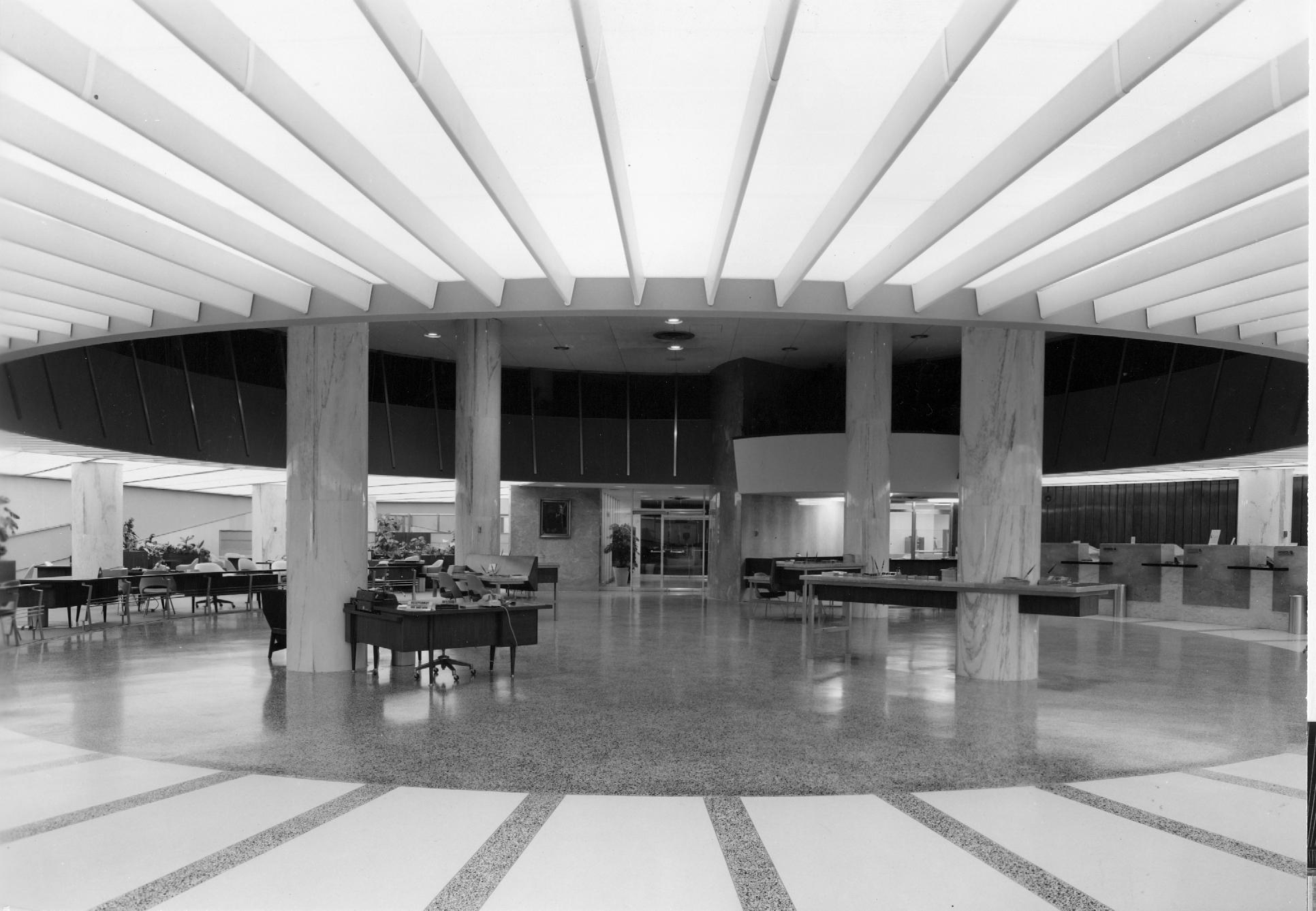 Interior c. 1960.