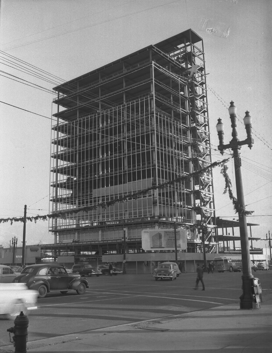 First Security Bank Building Dec. 21, 1954 C-400 #27886-1 NT.jpg