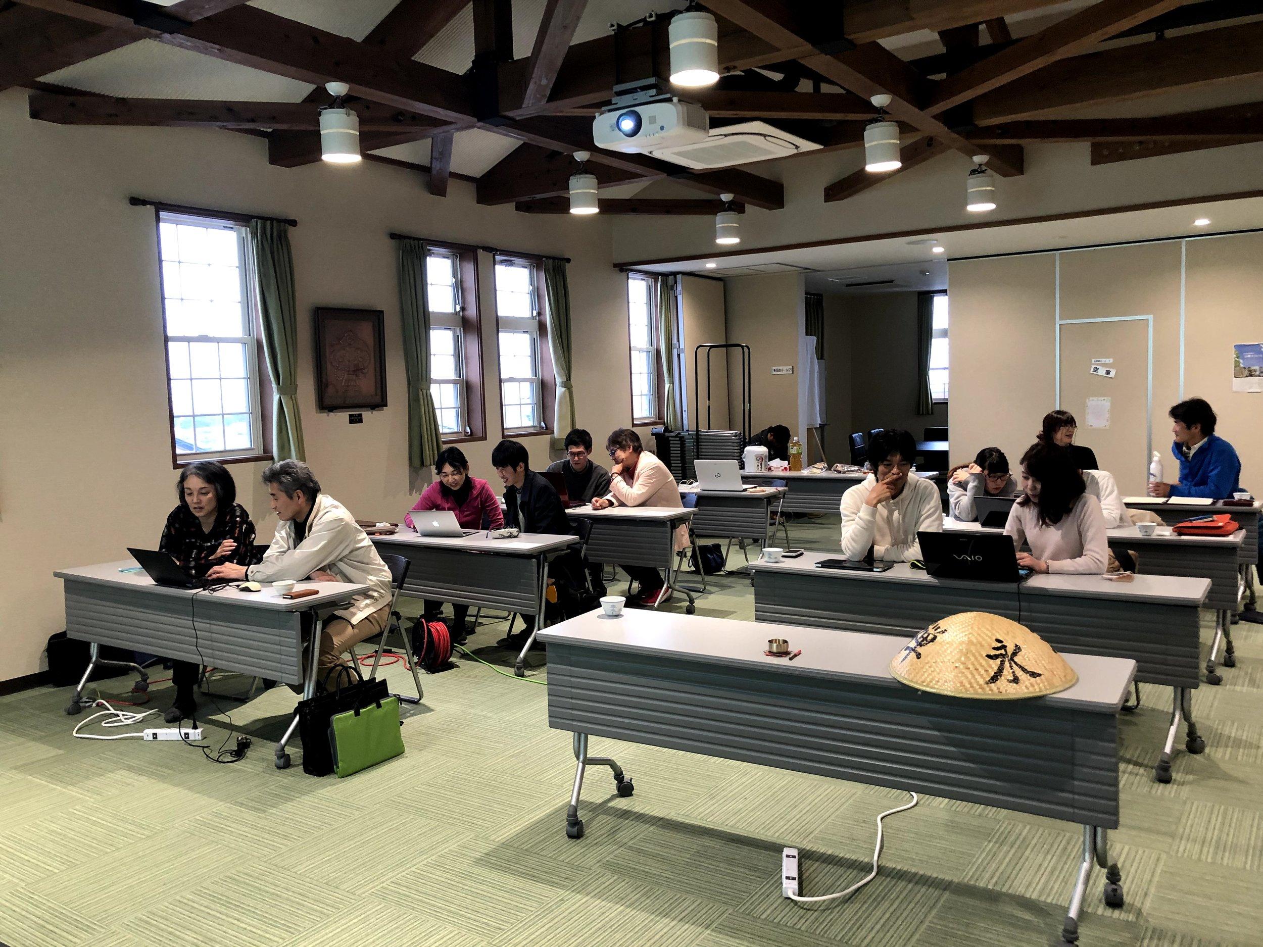 ペアプログラミングの姿 / Participants pair programming