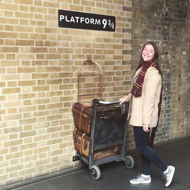 Londen was leuk, maar ik ben klaar voor het volgende avontuur! #Hogwarts
