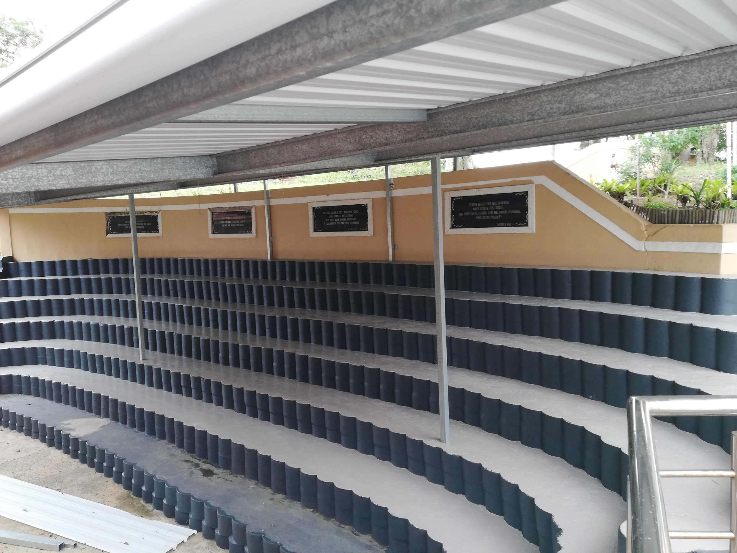 Amphitheatre Surface refurbished and painted