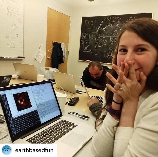 An incredible achievement was published this week. Scientists revealed the very first image of a black hole. It would not have been possible without worldwide collaboration and dedication. It's also down to the massive contributions of people like Dr Katie Bouman. ⠀ Science is for women too. It's for the ever curious. For the ones that keep asking why. It's for the creative. If you want to get involved, don't let anybody convince you can't. ⠀ Posted @withrepost • @earthbasedfun 👍This is Dr Katie Bouman. She's the computer scientist that created the algorithm that turned telescopic data in to the now famous first image of a black hole.  She's worked on this for 12 years.  I think it's important to share particularly for girls who want to study science and still feel they can't or shouldn't which is insane in 2019👍 ⠀ #womeninscience #stemgirls #stemeducation #stem #womeninstem #empoweringgirls #girlsinscience #scienceisforeveryone #girlsinstem #stem