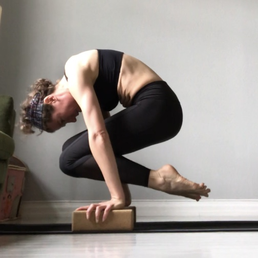 My Free Yoga Yoga Handstand Core Workout With Props