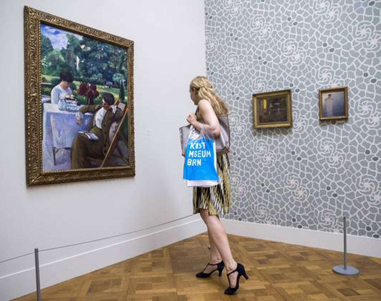 """""""Van Gogh bis Cézanne, Bonnard bis Matisse: Die Sammlung Hahnloser"""", Ausstellung im Kunstmuseum Bern, 11.8.2017 - 15.4.2018. Foto von Reto Pedrini"""