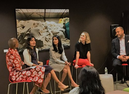 Booth Panel on Diversity in the Workplace, May 3, 2018
