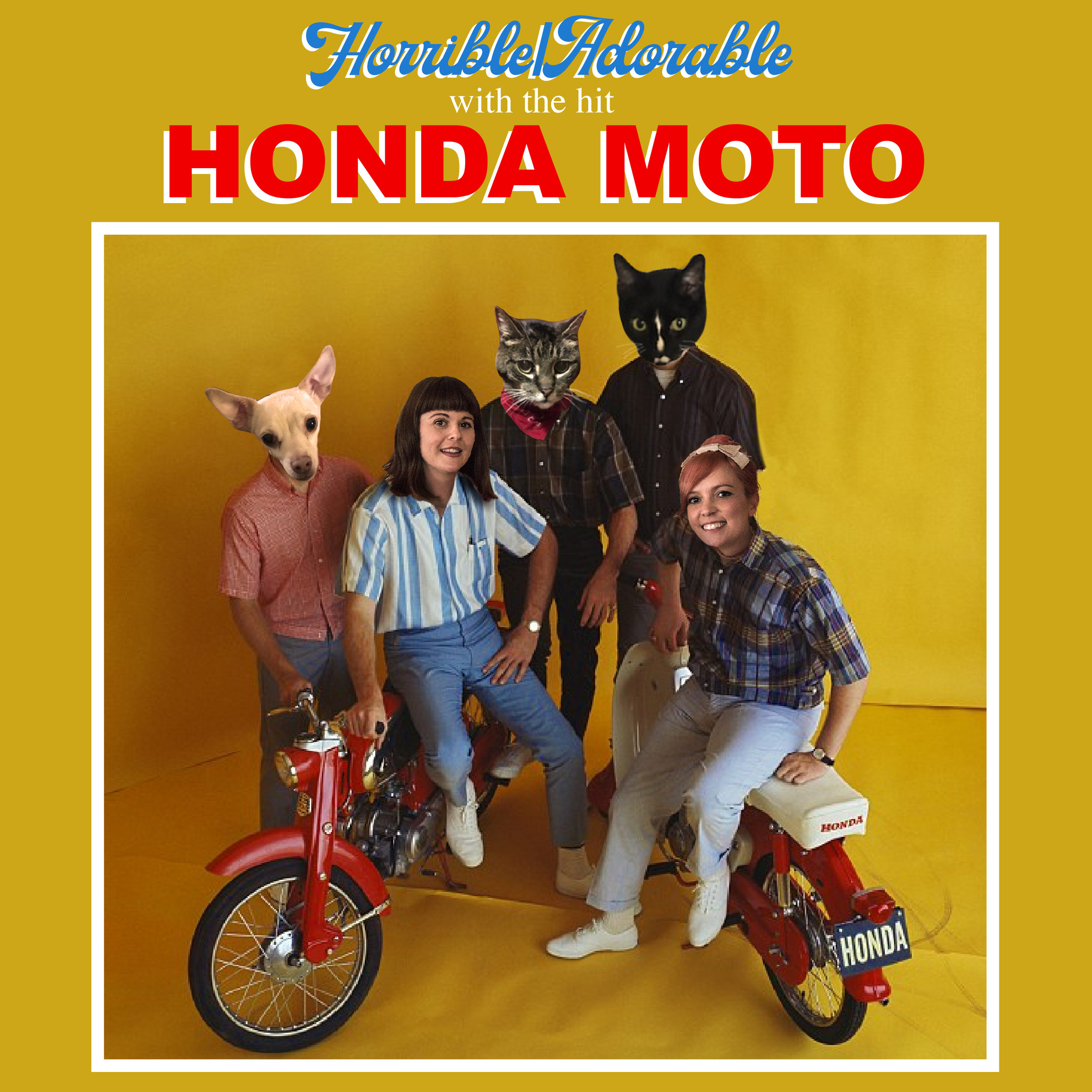 "Horrible/Adorable ""Honda Moto"" Single"