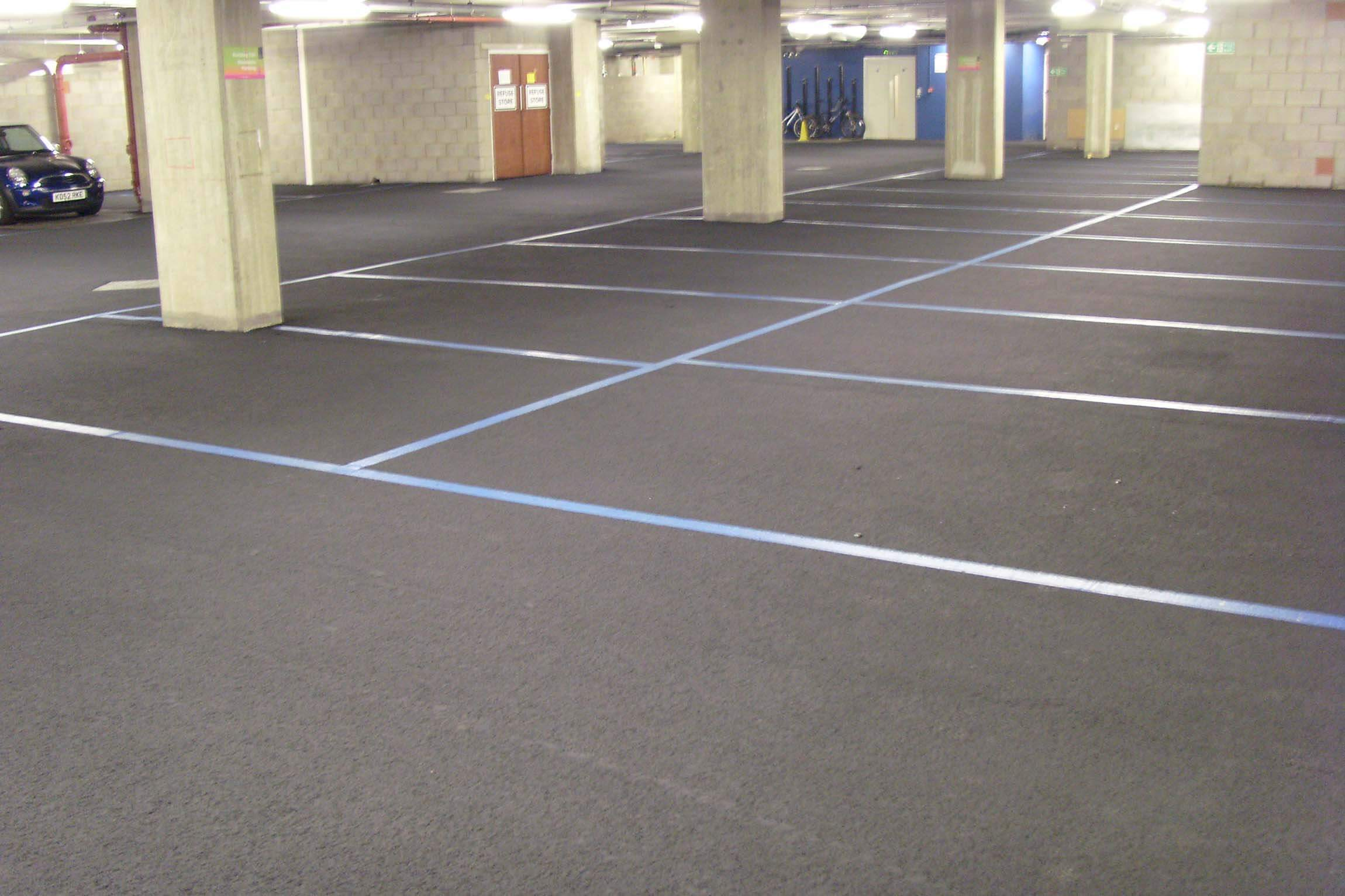 Tarmac car park cleaned & restored perfectly. LS25 area.
