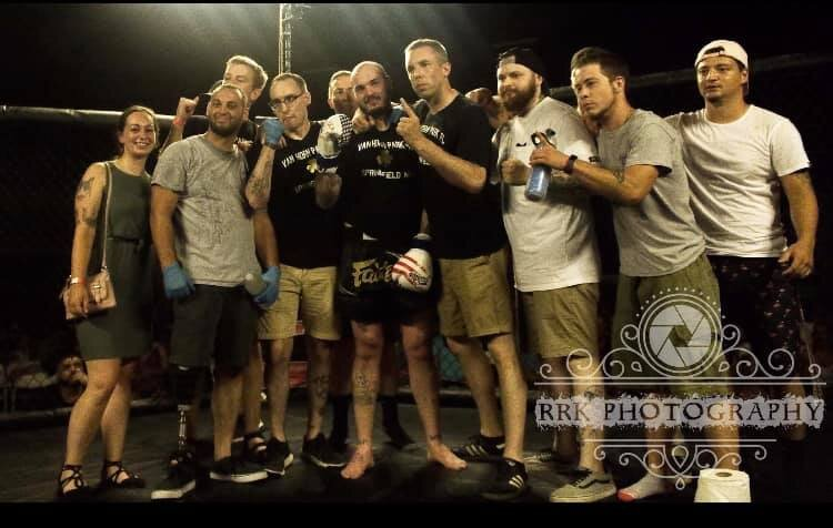 Matt March - Current undefeated fighter and Cancer survivor will be fighting for the vacated 185lb Muay Thai Title Dec 21stFights out of KOVFighting style Muay Thai