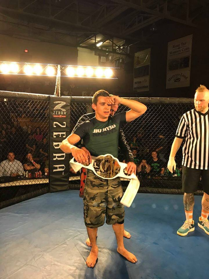 """Anthony """"Tony"""" Alvarenga - Tony is the former DonnyBrooke No Gi Jiu Jitsu Champion, he made his debut fight in Dec of 2018 vs a very tough Dylan Bishop in which he won via submissionFights out of: 603 BJJ,Baan Muay ThaiFighting Style:Brown Belt BJJ, Muay Thai"""