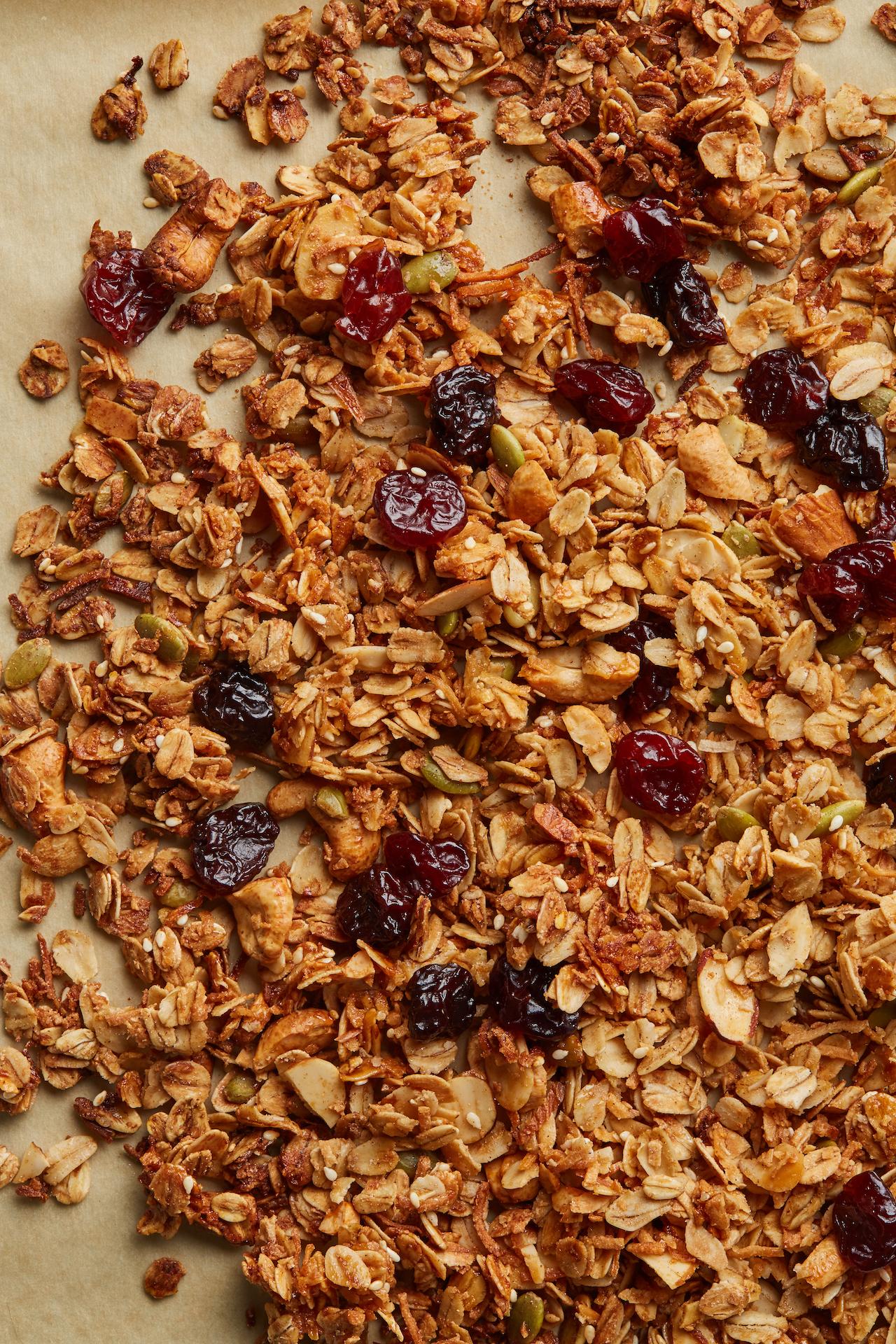 Coconut Almond Granola - Nut Butter Granola ParfaitBanana Granola BarsApple Blackberry Granola Crumble