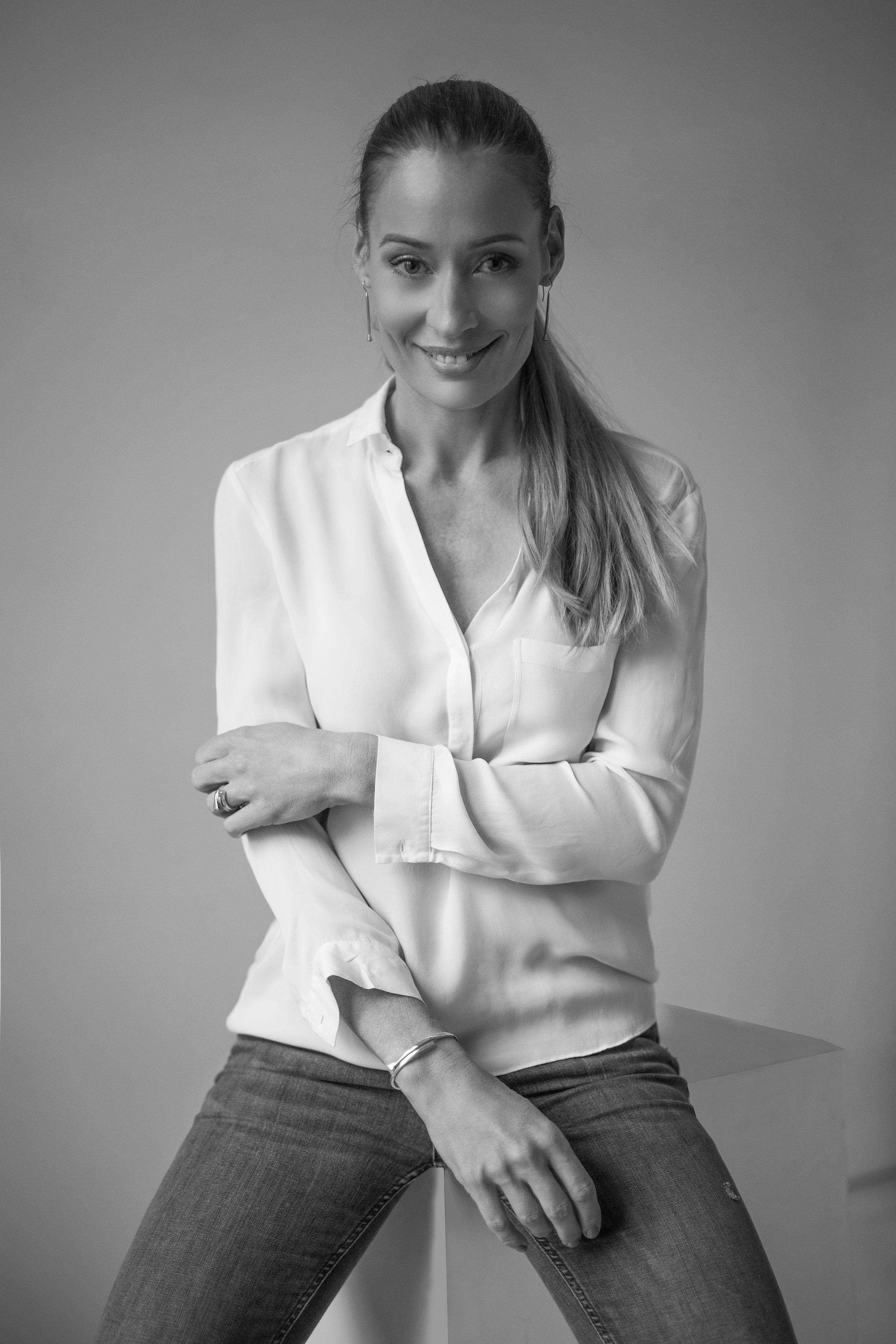 Lidia Nagy - designer of The Line Jewelry