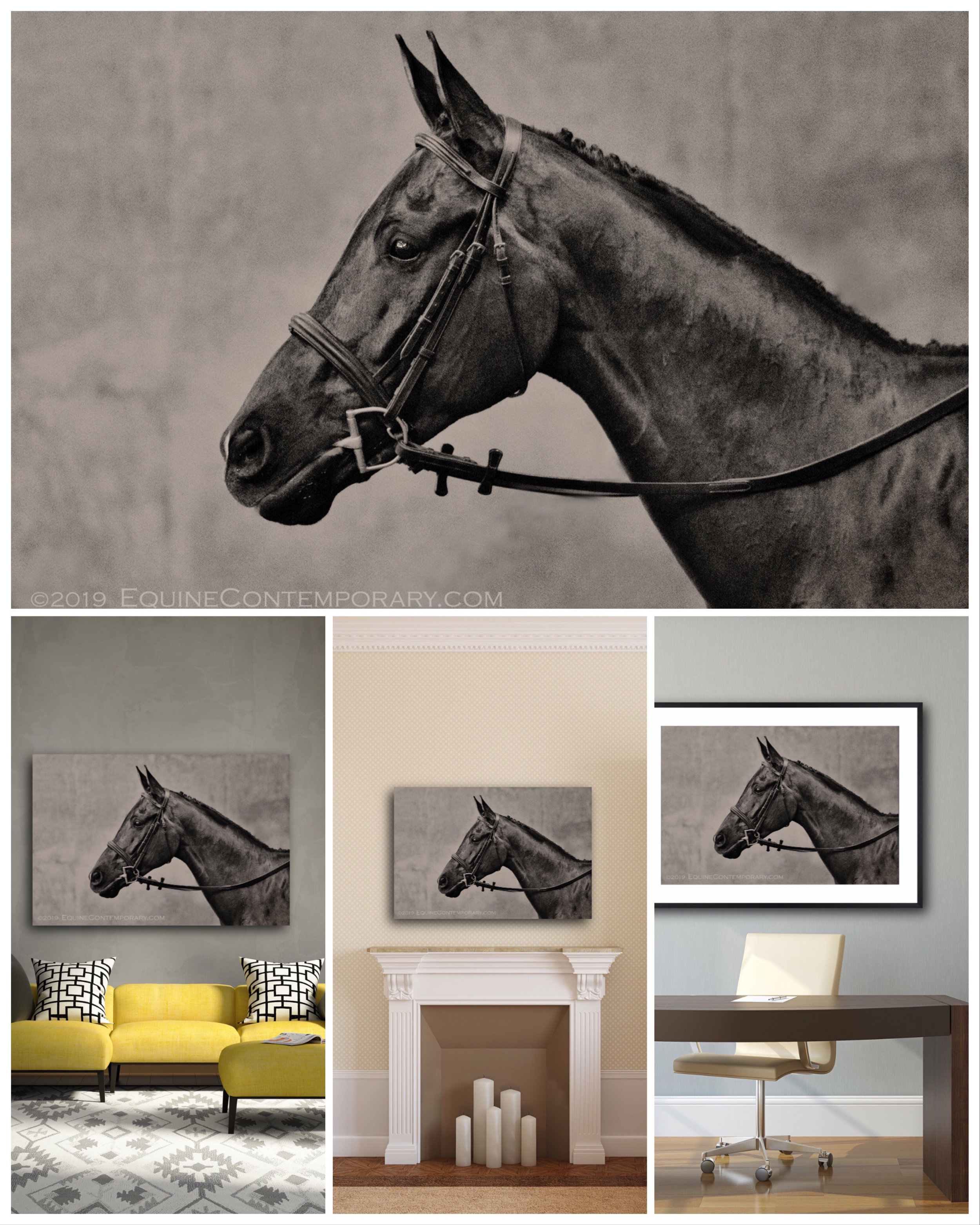 Here are two versions of the image on  dye-sublimated metal,  and an  archival pigment print on watercolor cotton paper,  matted and framed.