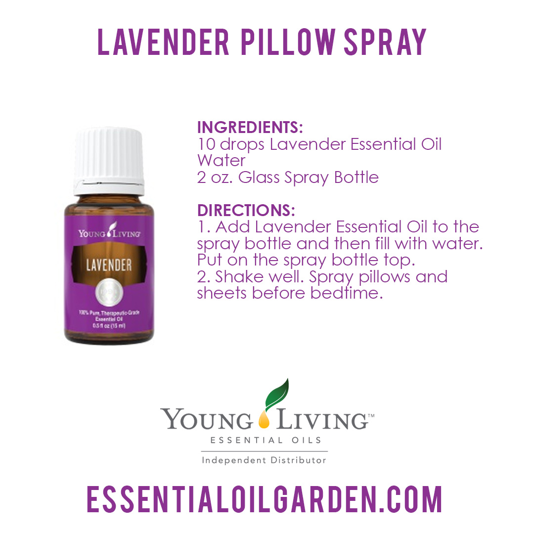 Young Living Lavender Pillow Spray
