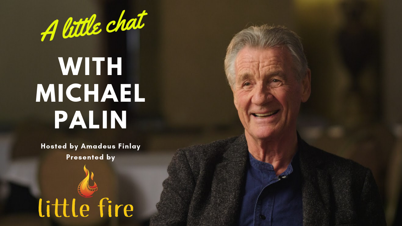 - a little chat with monty python's michael palin