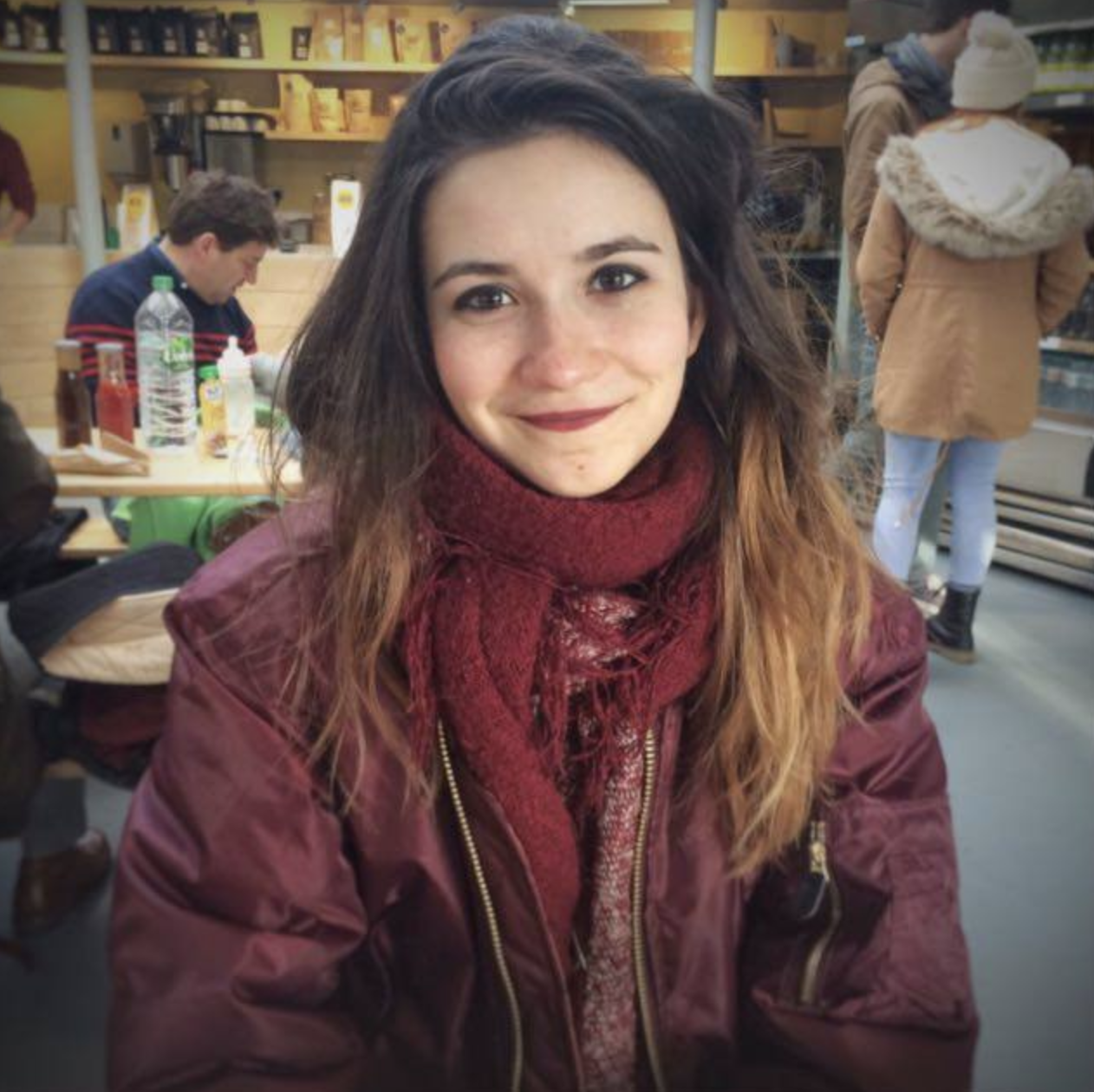 "Juliette/France/Digital Marketer   "" I want to be part of a generation where we all want to help each other."""