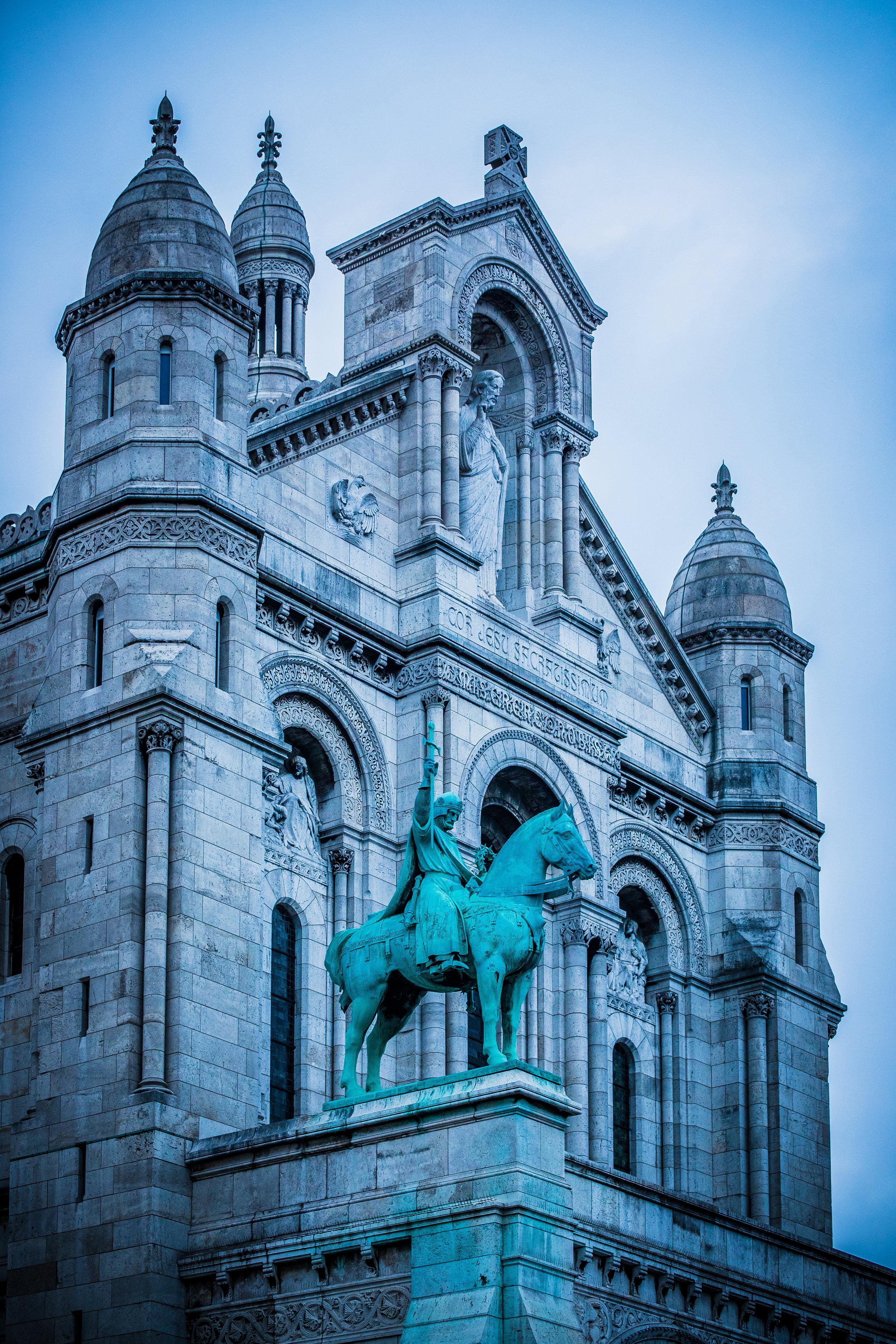 Sacre-Coeur:  http://www.sacre-coeur-montmartre.com/english/