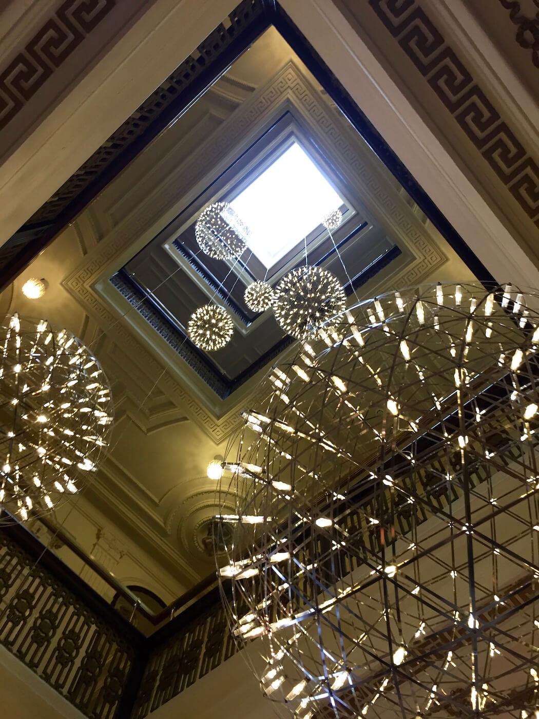 Doelen Hotel Lobby Skylight