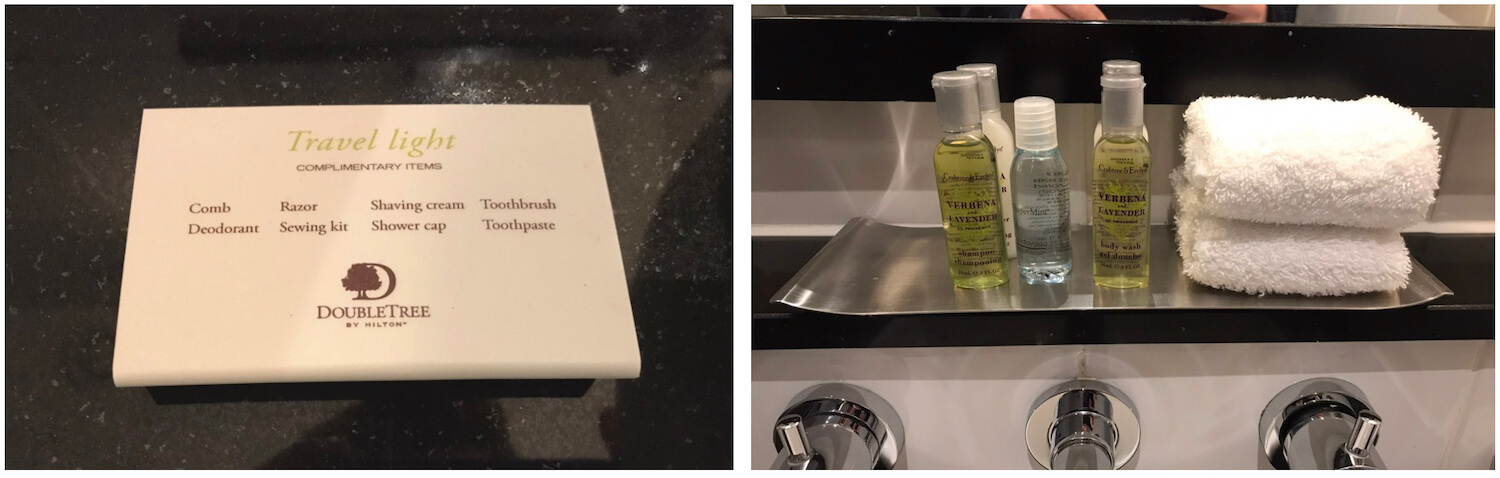 DoubleTree Dundee Bathroom Toiletries