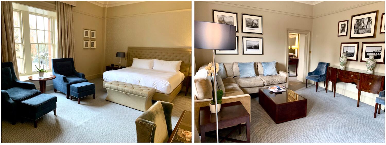 Waldorf Astoria Edinburgh - One Bedroom Suite - Bedroom and Living Area