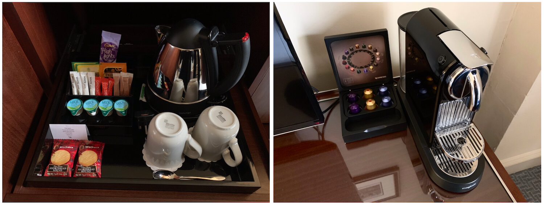 Waldorf Astoria Edinburgh - One Bedroom Suite - Tea and Nespresso Coffee Facilities