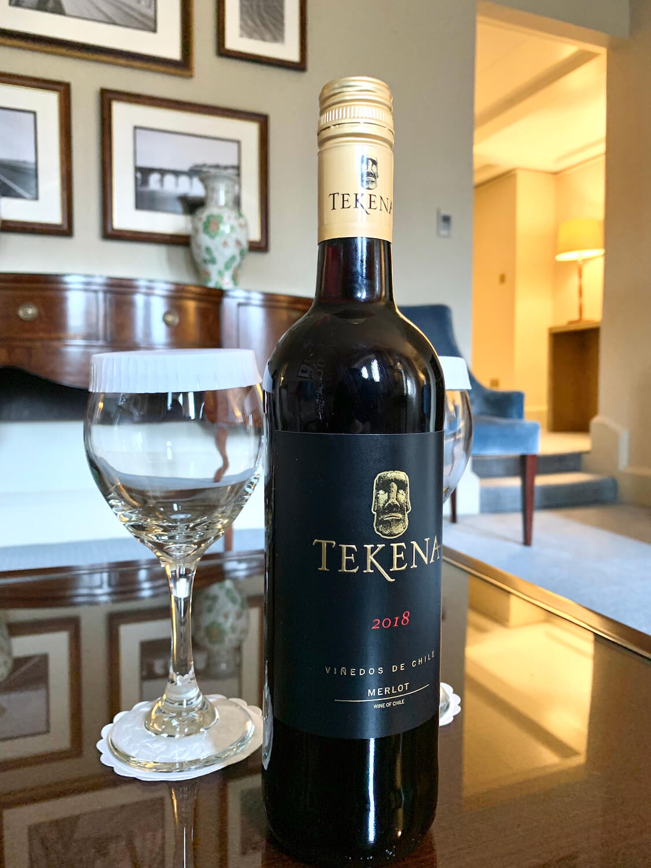 Waldorf Astoria Edinburgh - One Bedroom Suite - Free 2018 Merlot - Wine of Chile