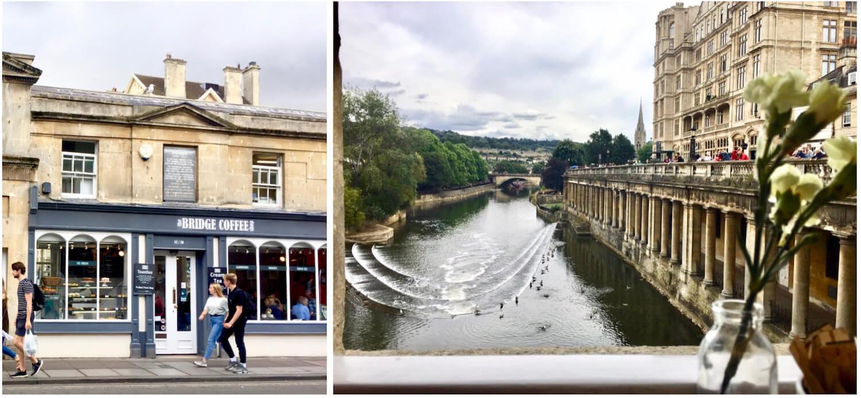Bridge Coffee Shop - Pulteney Bridge - Bath, Somerset
