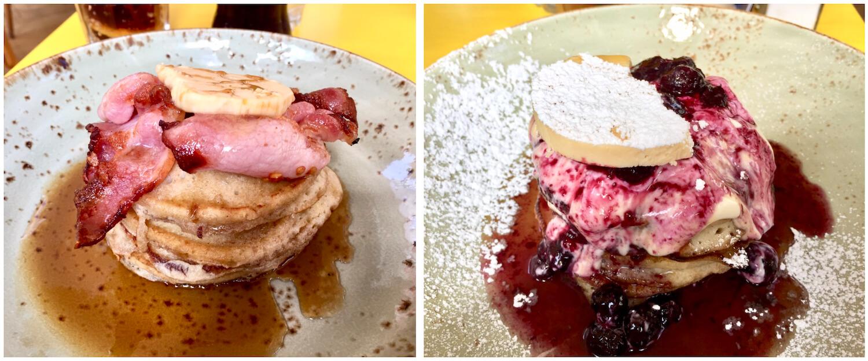 Boston Tea Party Cafe - Breakfast Pancakes - Bath, Somerset