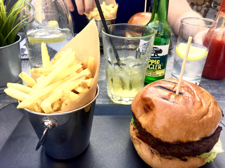 Roman Baths Kitchen Restaurant - Burgers and Fries - Bath, Somerset