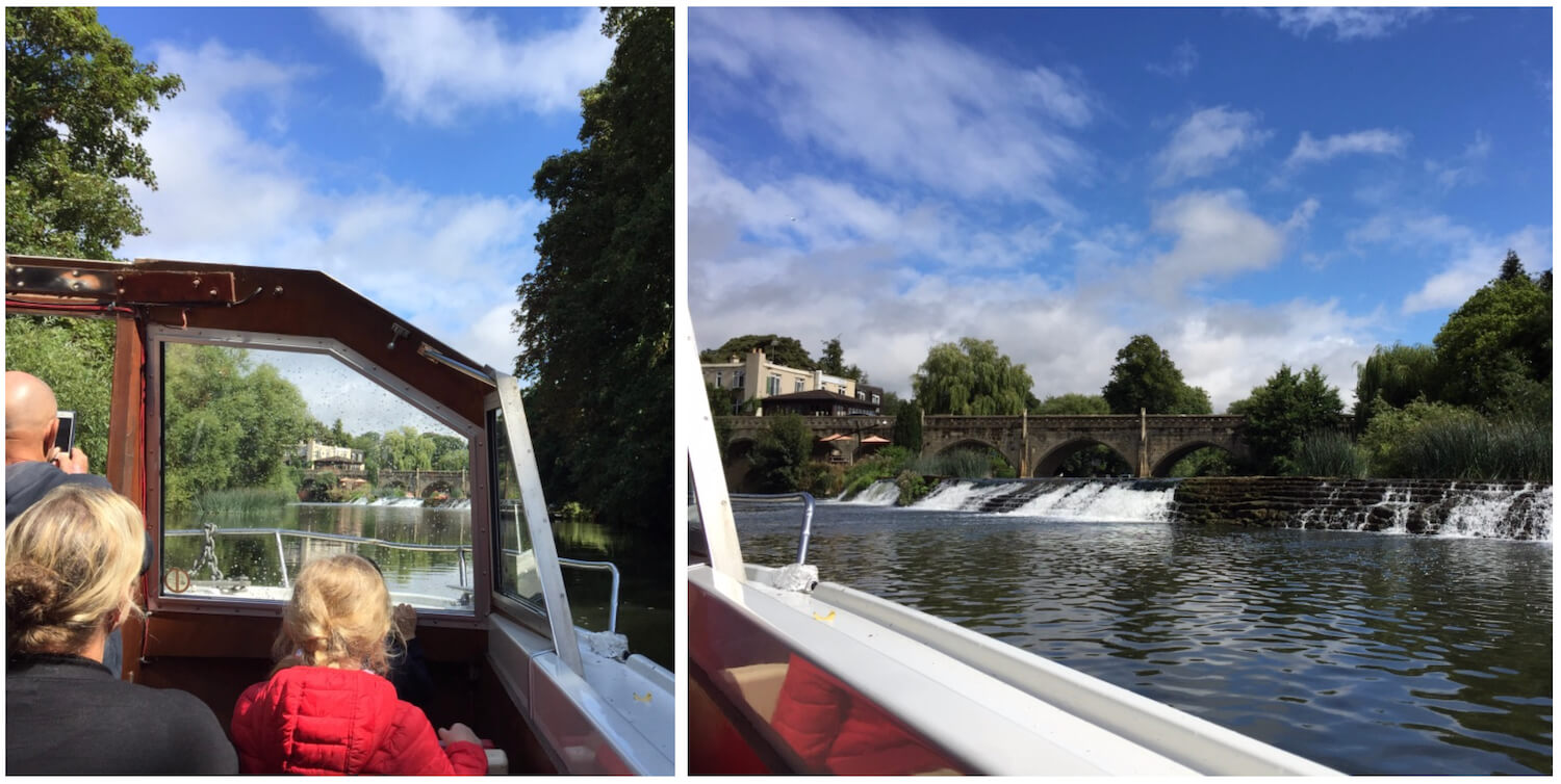 Bath, Somerset - Boat cruise up the River Avon - Pulteney Princess