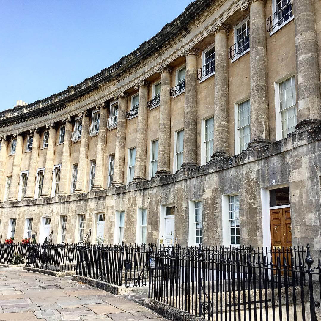 Bath, Somerset - Royal Crescent - Georgian Architecture