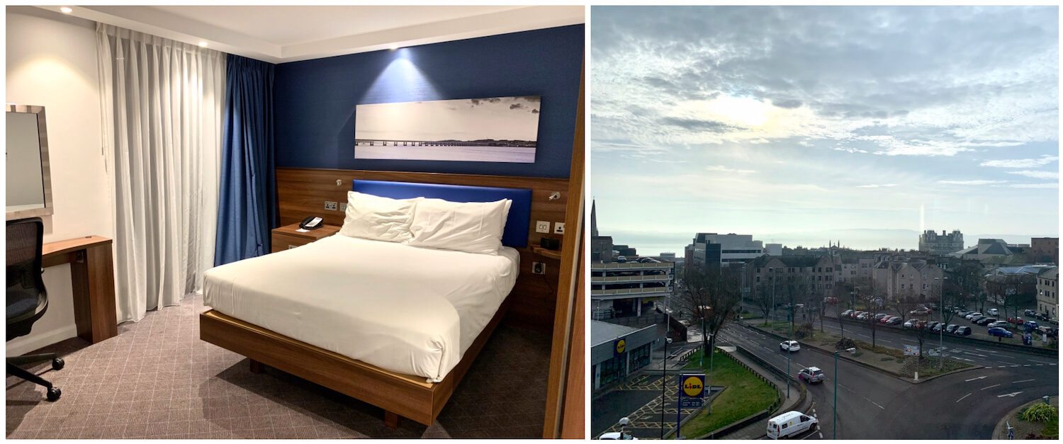 Queen Room Bed and View - Hampton By Hilton Hotel, Dundee