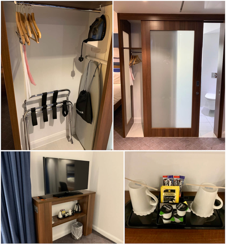 In Room Amenities - Queen Room - Hampton by Hilton Dundee