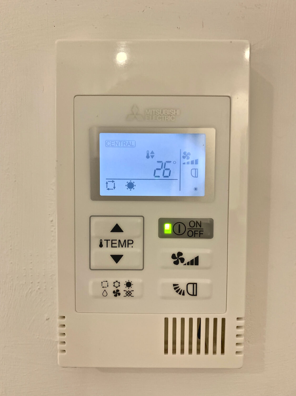 Room Temperature Control - Hampton Hotel, Dundee