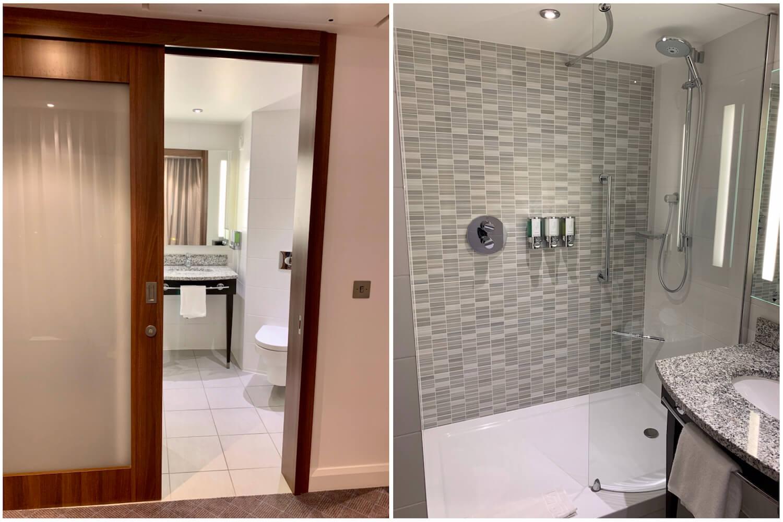 Queen Room Bathroom - Hampton Hotel, Dundee