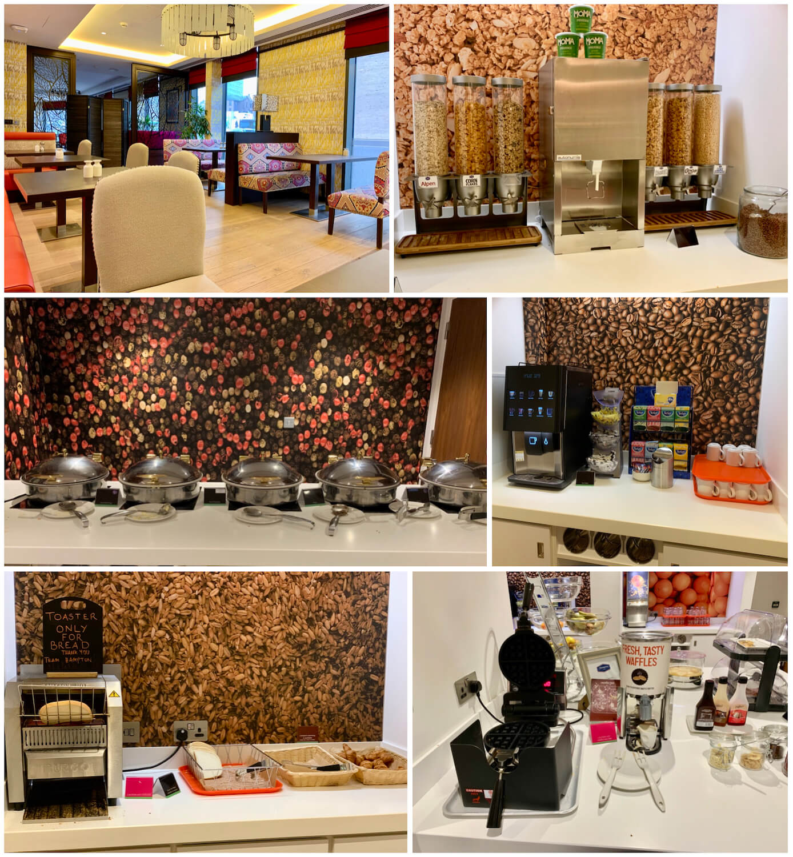 Breakfast Buffet - Hampton By Hilton Hotel, Dundee
