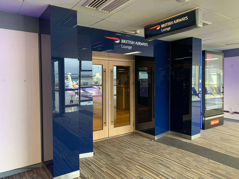 British Airways Lounge - Glasgow Airport