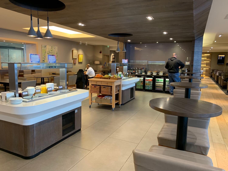 British Airways Lounge - Glasgow Airport Catering