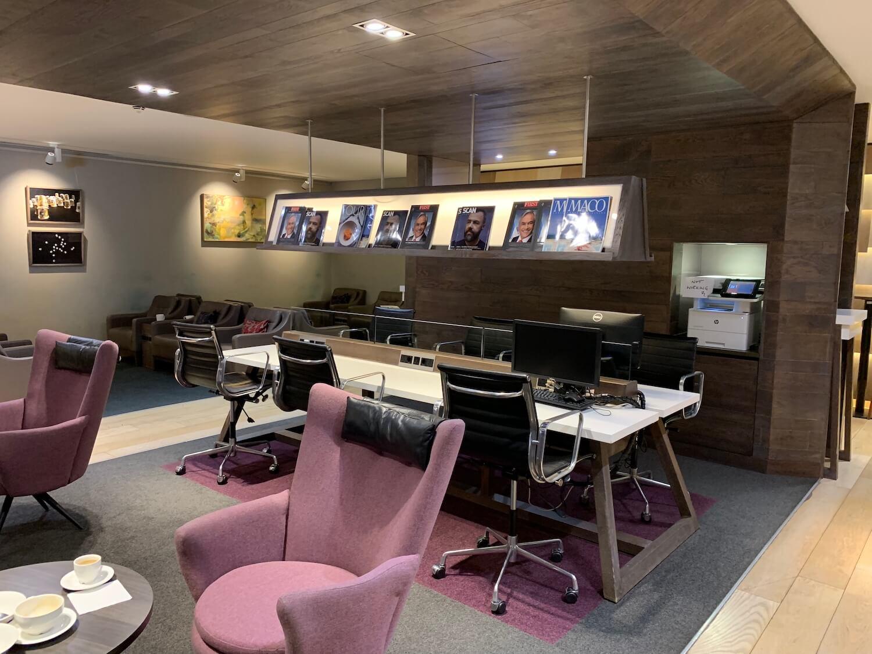 British Airways Lounge - Glasgow Airport - Business Facilities