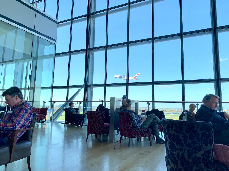 British Airways Galleries Lounge North - Balcony