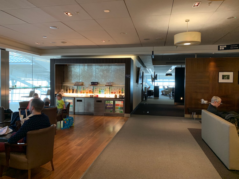 British Airways Galleries Lounge South - Seating