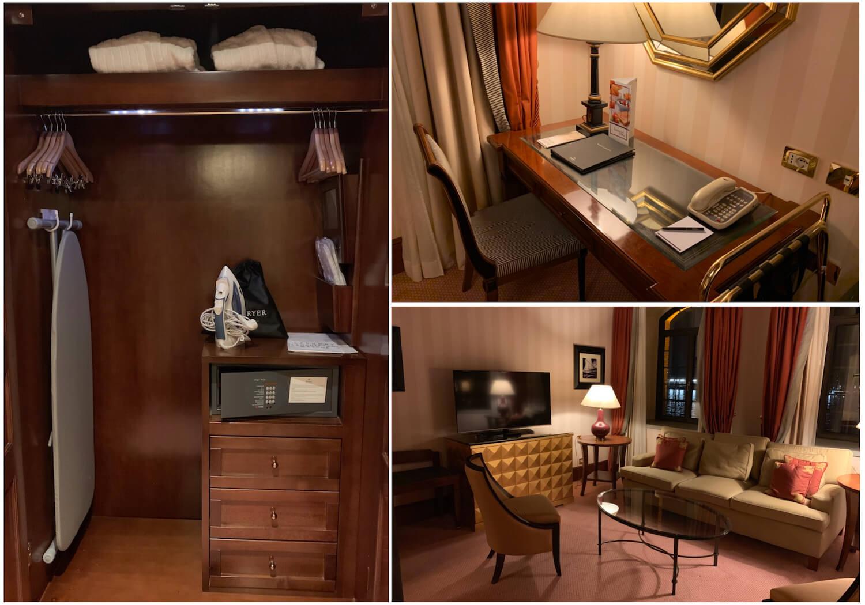 Hilton Molino Stucky Venice - King Tower Suite - Room Storage