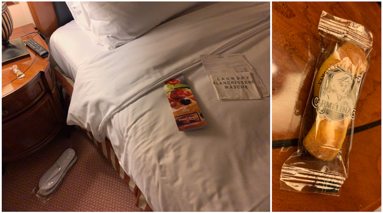 Hilton Molino Stucky Venice - King Tower Suite - Housekeeping Turndown Service