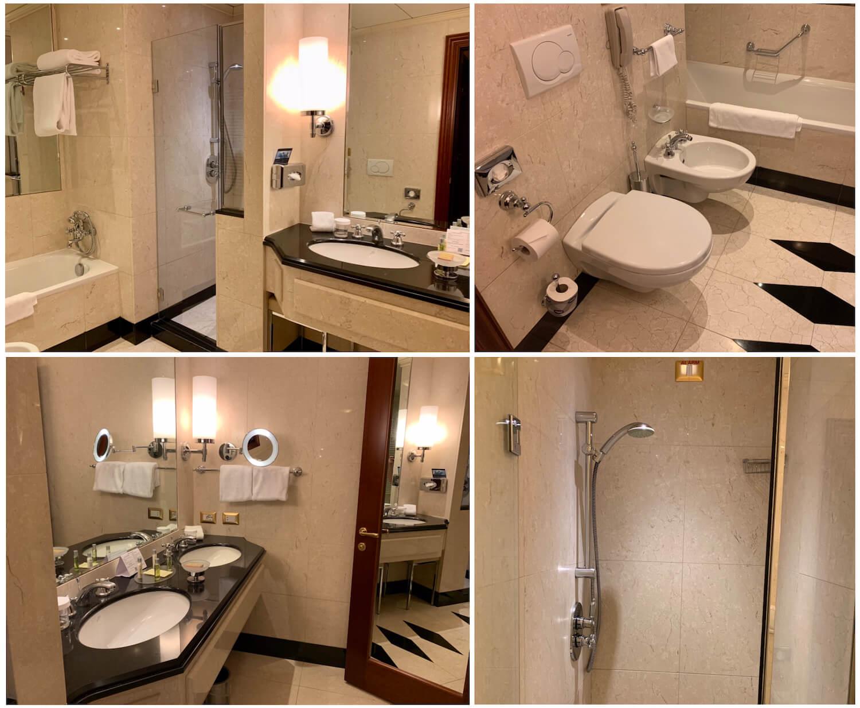 Hilton Molino Stucky Venice - King Tower Suite Bathroom Facilities