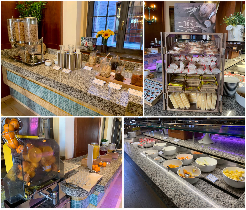 Hilton Molino Stucky Venice - Cold Il Molino Breakfast Options