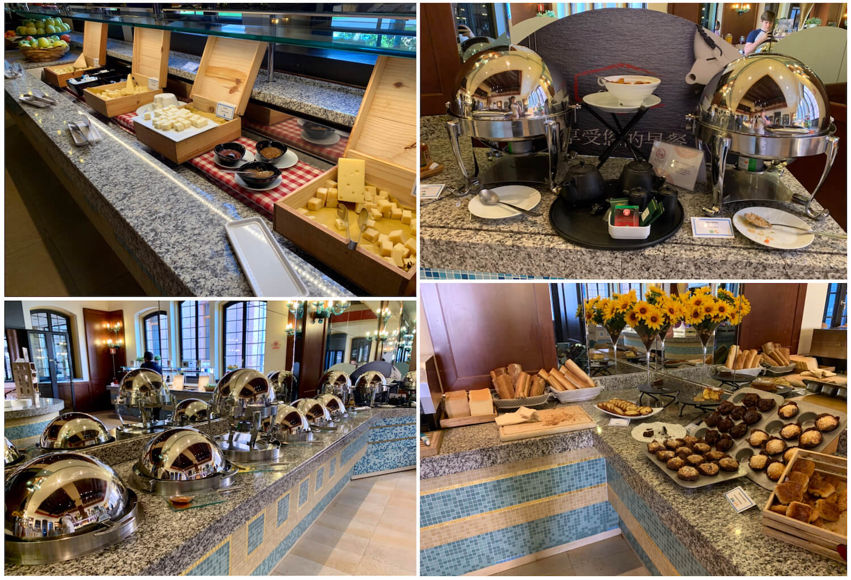 Hilton Molino Stucky Venice - Hot and Continental Il Molino Breakfast Options