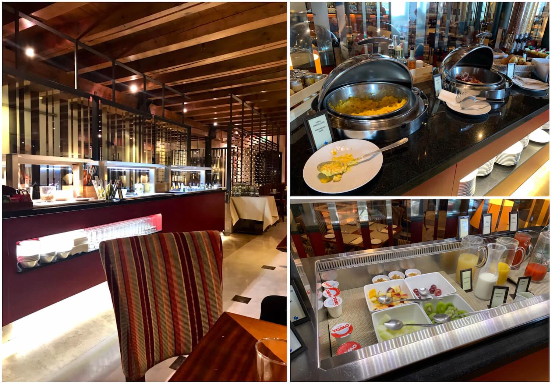 Hilton Molino Stucky Venice - Executive Lounge and Food Options
