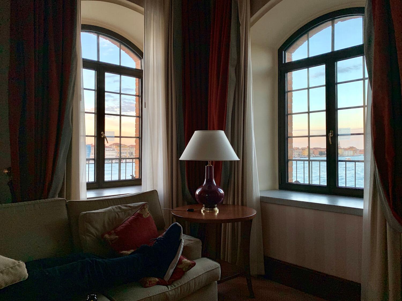 Hilton Molino Stucky Venice - Tower Suite Corner View
