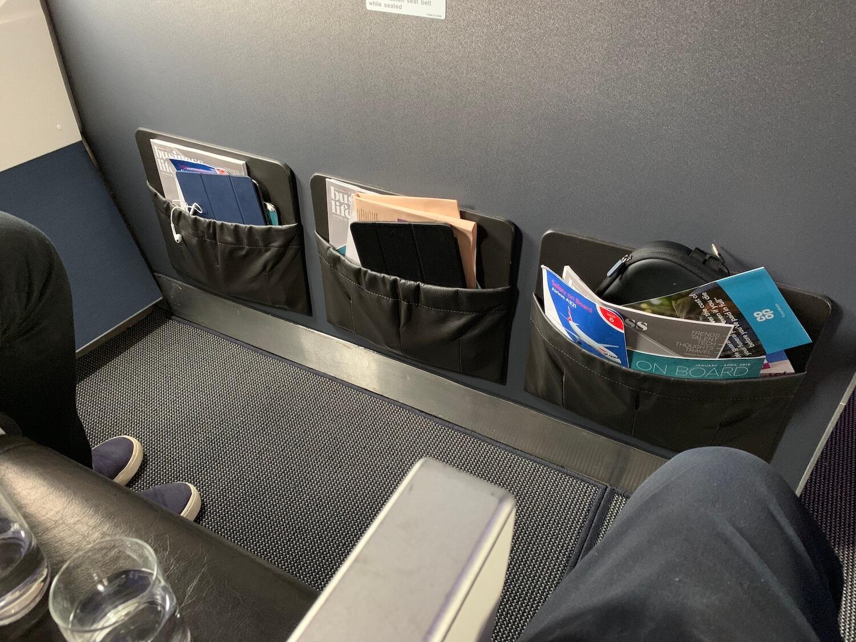 British Airways Club Europe Airbus A321 Legroom