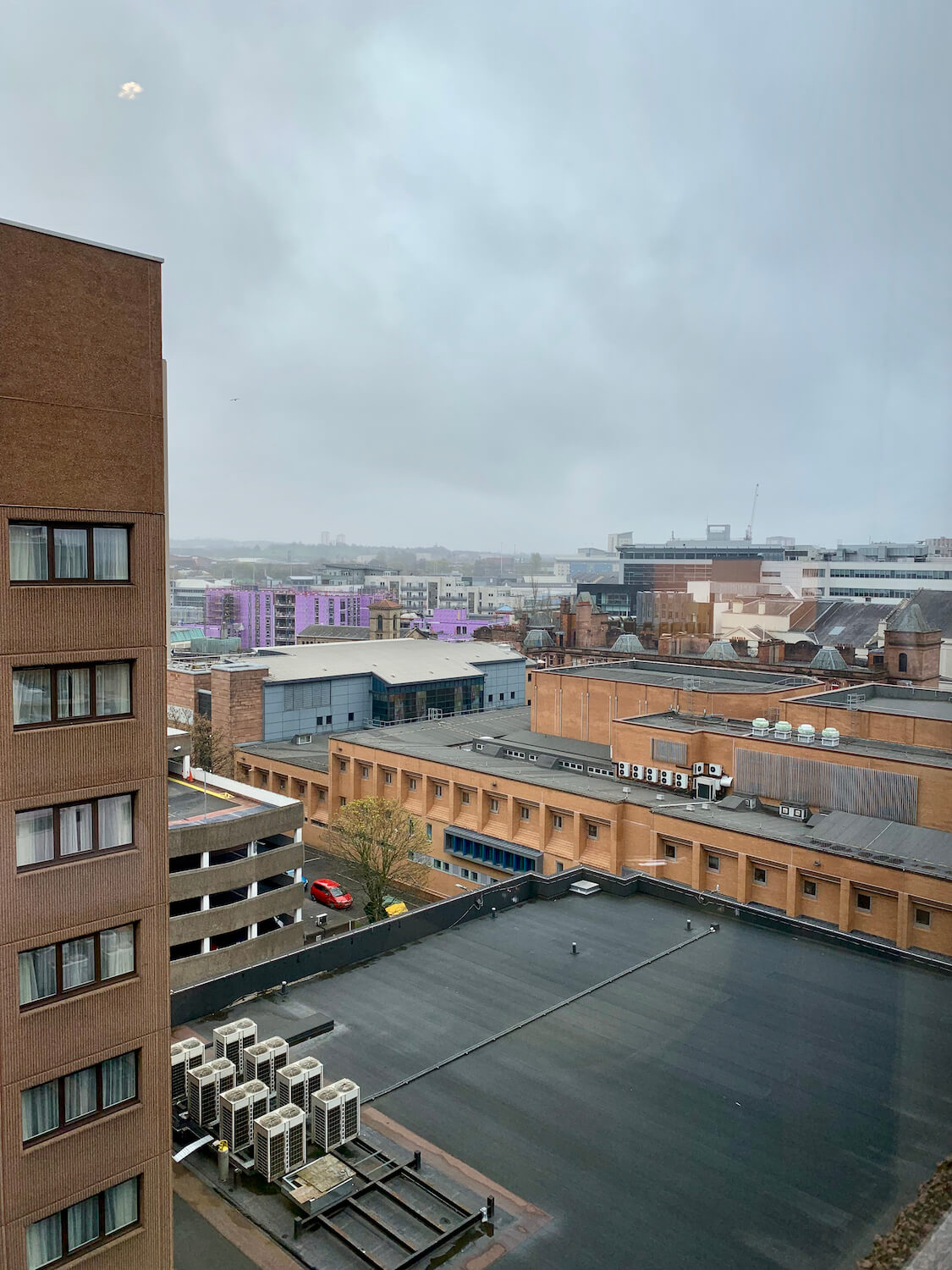 DoubleTree Glasgow Executive Room - 8th Floor View
