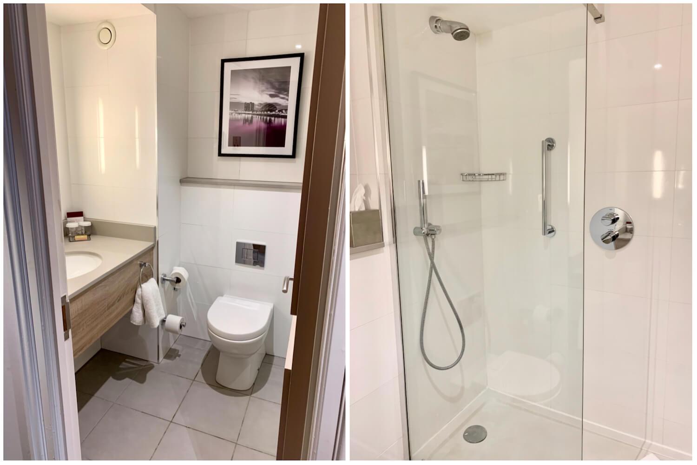 DoubleTree Glasgow Executive Room - Bathroom